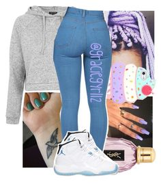 """"" by lamamig ❤ liked on Polyvore featuring Topshop, OPI and Retrò"