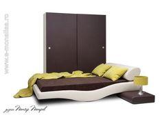 Mobila Dormitor Moderna Wave. Mobilier Dormitoare moderne de Lux Toddler Bed, House, Furniture, Design, Home Decor, Child Bed, Decoration Home, Home, Room Decor