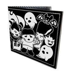 Little Monsters Wallet Unisex, $16, now featured on Fab.