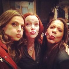 "Stana Katic (@Stana_Katic): ""24"" girls.   Stana, Annie Wersching, and Penny Johnson Jerald"