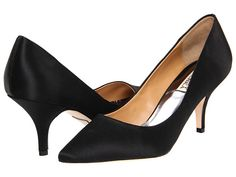Badgley Mischka Monika II - These would be perfect low heel bridesmaid shoes.....if only they werent $195 US.   :(