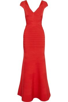 Ruby Red bandage gown