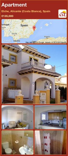 Apartment in Elche, Alicante (Costa Blanca), Spain ►€135,000 #PropertyForSaleInSpain