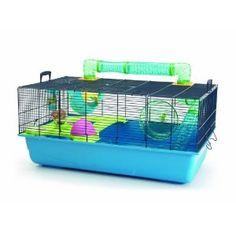 Savic Hamster Sky Navy Blue Hamster Cage