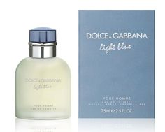DOLCE & GABBANA LIGHT BLUE EAU DE TOILETTE MENS SPRAY - 75ML  A light and smooth scent for men, reminiscent of carefree Mediterranean day. This masculine fragrance is relaxed, playful and sexy.  Top notes: Sicilian mandarin Middle notes: Sichaud pepper and rosewood Base notes: Oakmoss  www.hogiesonline.co.uk - DOLCE