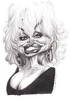 Artist:Jan Op De Beeck   Caricature:Dolly Parton