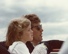JFK and Caroline. I love this picture!