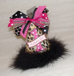 Leopard party hat! Must have!! $12.50