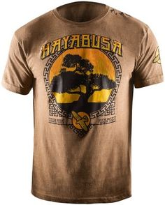 Hayabusa Bonsai T Shirt Brown Vechtsport Winkel Nederland