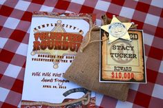 """Photo 4 of 17: western theme / Volunteer Appreciation Lunch """"Volunteer Round Up 2012"""" 
