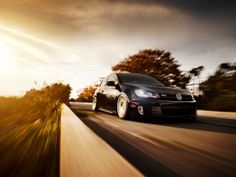 Volkswagen Golf GTI On The Road Wallpapers | Free Desktop Wallpapers