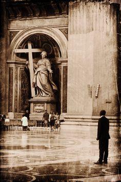Roma - Interno di San Pietro in Vaticano, photo by Luca Parravano