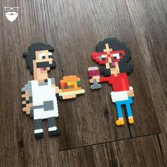 Finally got some sand paper to finish the bases for these standees. Excited to show them off in their finished state. :) Anyone else a fan of Bob's Burgers?