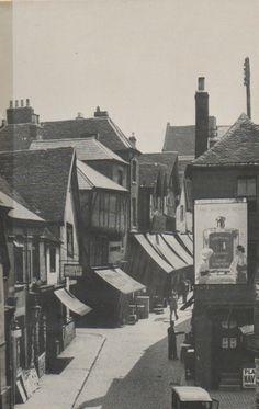 Butcher Row Coventry 1935  (demolished to create Trinity Street)