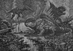 Ambulaquasaurus, Malevolusaurus (king kong) by ABelov2014 on DeviantArt King Kong Skull Island, Reptiles, All Godzilla Monsters, The Lost World, Prehistoric Creatures, Dragon Art, Beast, Jurassic Park, Wildlife
