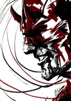 Daredevil by Mike Kevan