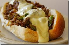 Philly Cheesesteak Sandwich (((Authentic)))