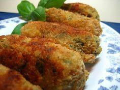 Receta de Croquetas de espinacas frescas