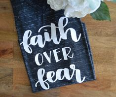 Hey, I found this really awesome Etsy listing at https://www.etsy.com/listing/278927166/faith-over-fear-graphic-tee-v-neck