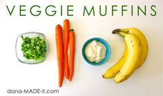 make with whole wheat flour, replace sugar with apple sauce, add spinach, cranberries