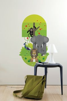 Edgar the Elephant, Presley the Peacock and Henry the Lion are all stately, while Chaz the Chimp monkeys around in the A Modern Eden tree. $45