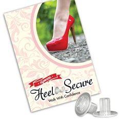 High Heel Protectors (3 Pairs) Stop Sinking Heels, Perfect for Everyday & Formal Wear, 3 Different Sizes