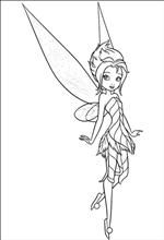 Periwinkle and Tinkerbell Coloring Pages   Free Printable Secret of ...