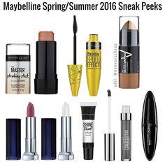 Maybelline Spring/Summer 2016 Sneak Peeks