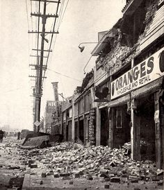 21 Rare Photographs of the 1933 Long Beach Earthquake. I featured this earthquake in my novella, Placing Out. Long Beach California, California History, Vintage California, Southern California, Lakewood California, Harbor City, San Luis Obispo County, Old Photos, Vintage Photos