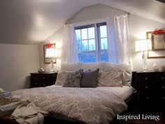 Inspired Living: Winter Bedroom