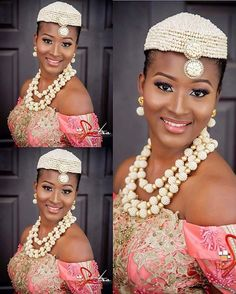 @attractionsignature@spectrastudios #igbowedding #igbobride #tradlook #beads…