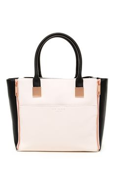 Leyah Crosshatch Shopper Tote by Ted Baker London on @nordstrom_rack