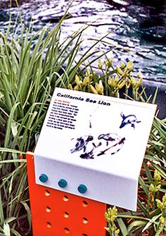 Russell Design | Selected Work. Environmental Graphics: Signage and Wayfinding. Prospect Park Zoo.