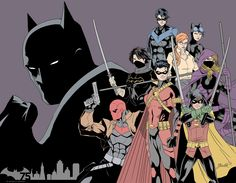 jakebartok:  Batman75 piece done for a facebook comp as well as a submission for a gallery exhibit.