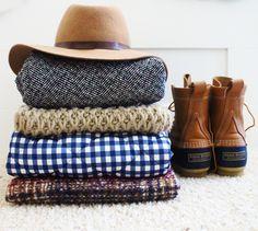 Fall Fashion Essentials   Bean Boots   J.Crew Vests
