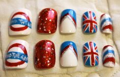 jubilee nail art, why not?