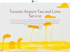 A Toronto Airport Taxi,  A one of the best leading company of taxi and limo service provider in toronto.  You can hire from us Taxi and Limousine for airport at  Call us-24/7. Book Now: www.torontoairport-taxi.com