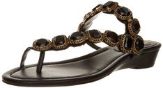 Vince Camuto Women's Idola Sandal,Black,6.5 M US -- Check this awesome product by going to the link at the image.