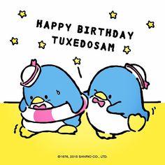 "31 Likes, 4 Comments - Hello Kitty (@wearehellokitty) on Instagram: ""Happy birthday Tuxedosam!! 😘😘😘 You are always so classy!👌☺️💖#tuxedosam #sanriocharacters #sanrio…"""