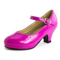 Girls Buckle Closure Medium Height Heels Fuchsia 2 M US Little Kid Generation19 http://www.amazon.com/dp/B010I61M3Y/ref=cm_sw_r_pi_dp_b8.Wwb0RH685F