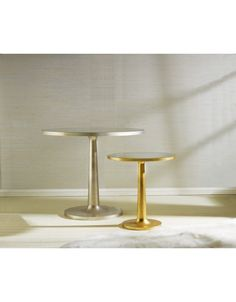 Luna Gold Leaf End Table by Somerset Bay Home