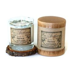 Wax Apothecary French Lavender 7oz Botanical Candle