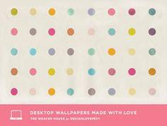 free desktop & iphone wallpapers. Love. #dressyourtech -dots