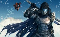 Very late birthday gift for x_x I'm sorry mate! I wanted to draw his spartan again, but this time I wanted to draw his destiny character Orion stark&nbs. Gift-The last Iron Wolf Destiny Cayde 6, Destiny Comic, Destiny Hunter, Destiny Bungie, Character Concept, Character Art, Character Design, Armor Concept, Concept Art