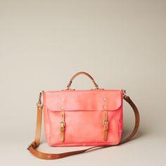 Ally Capellino Richard bag in coral (definitely my favourite bag designer)