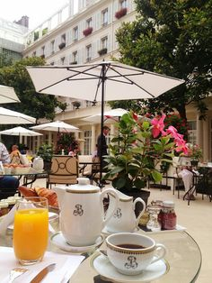 Breakfast Le Bristol - Paris