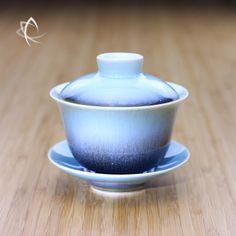 Taiwan Tea Crafts   Topaz Hare's Fur Gaiwan