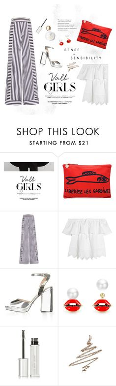 """KINDA FRENCH"" by ironono ❤ liked on Polyvore featuring COII, Clare V., Johanna Ortiz, Madewell, Topshop, Givenchy, Anastasia Beverly Hills, Versace, Summer and BloggerStyle"