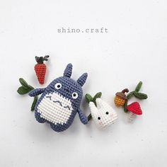 This is a PDF crochet pattern and not a finished doll . Scrap Crochet, Quick Crochet, Crochet Patterns Amigurumi, Crochet Gifts, Cute Crochet, Crochet Dolls, Crochet Totoro, Kawaii Crochet, Crochet Designs