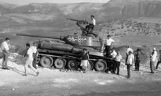 """Ed Okun """"Modeling Military History"""": Syrian Army T-34/85 Golan Heights, Six Day War 1967"""